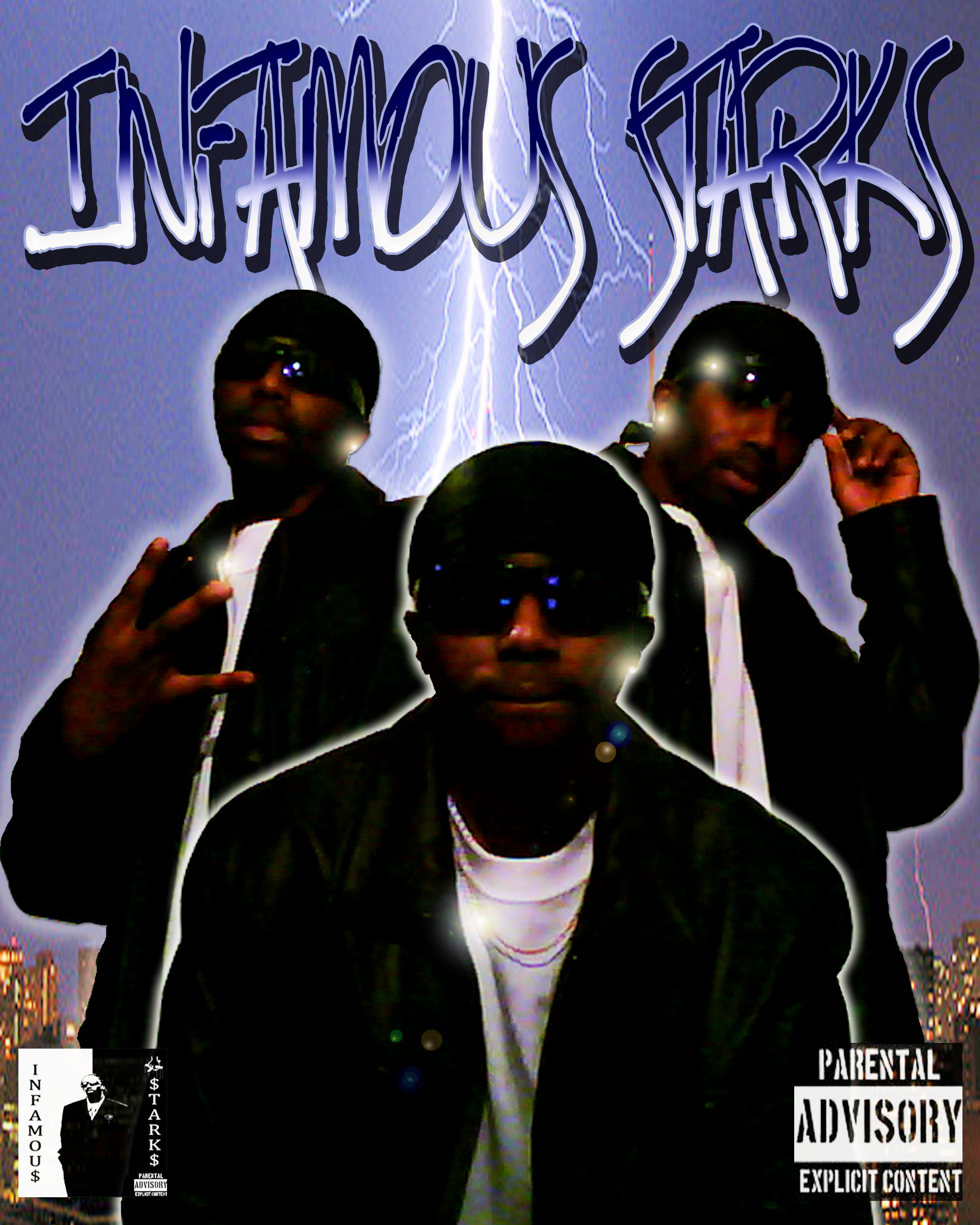 Infamous Starks album CDcover