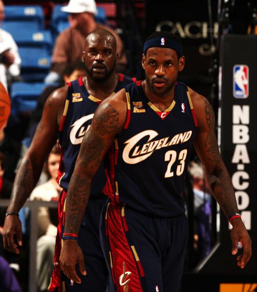 Shaquille+O+Neal+LeBron+James+Cleveland+Cavaliers+XaIDYXJ41TNl