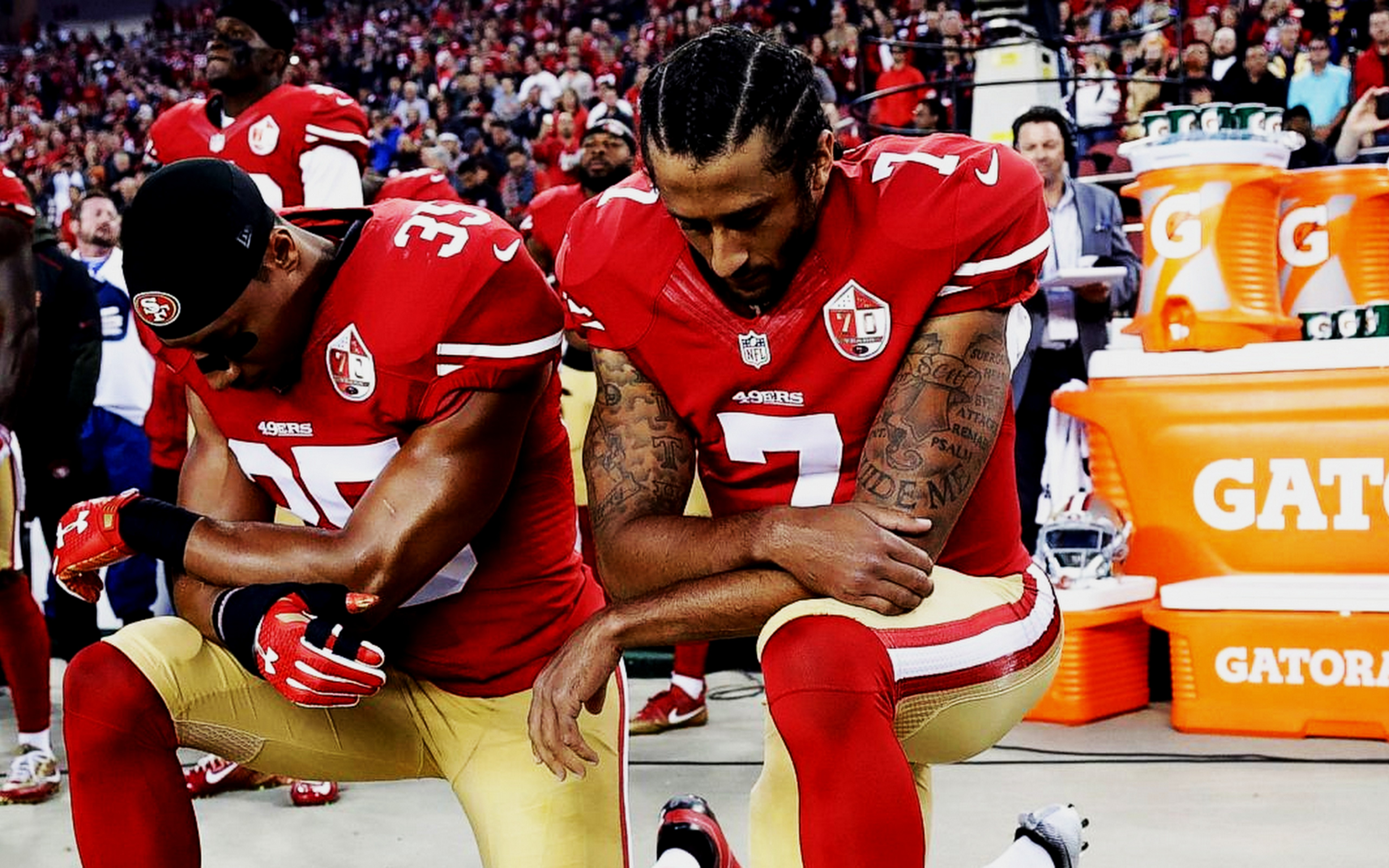 COLIN KAEPERNICK'S PROTEST AGAINST SYSTEMIC OPPRESSION